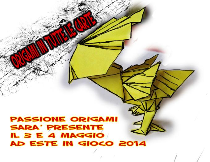 Impara gli Origami ad EiG 2014