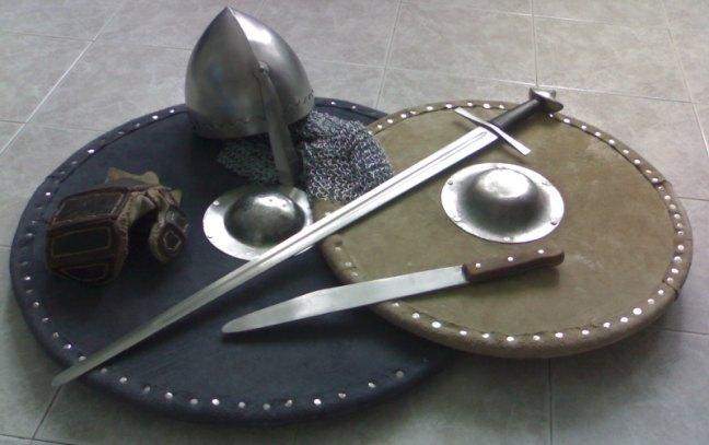 Dimostrazione Scherma Medievale ad EiG 2014
